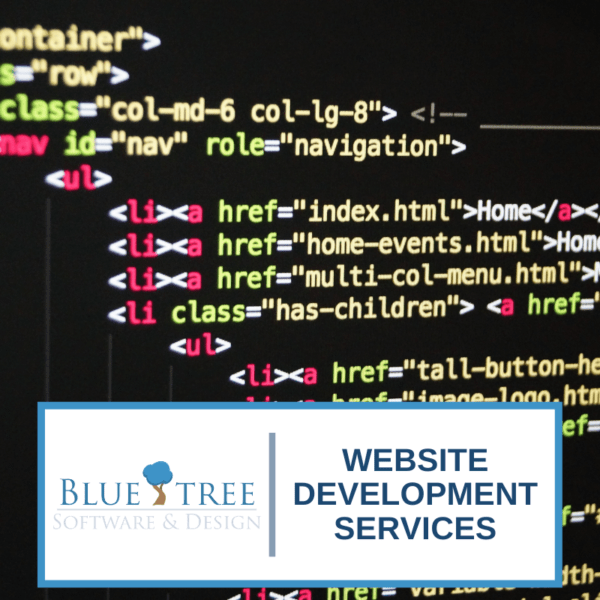 BlueTree website development